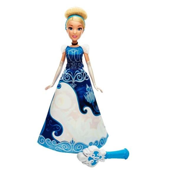 Disney Princess: Кукла Золушка в юбке с проявляющимся принтом