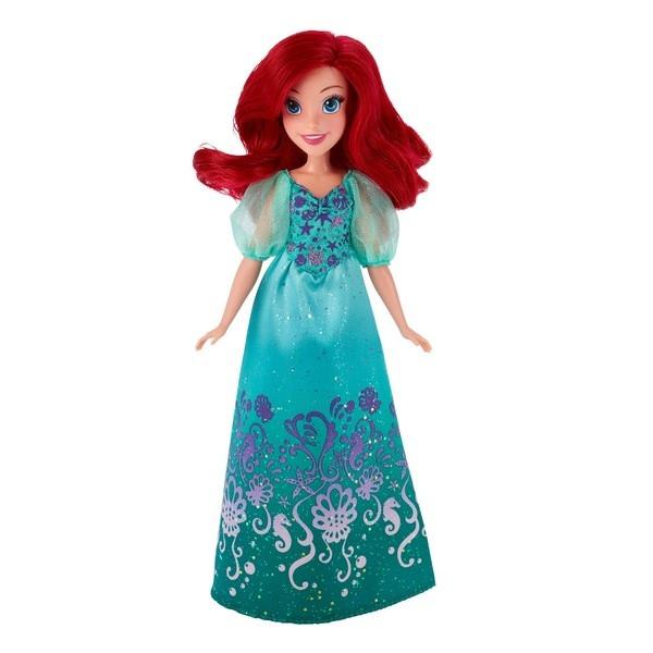 Disney Princess: Кукла Ариэль цвет платья бирюзовый