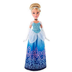 Disney Princess: Кукла Золушка цвет платья голубой