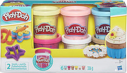 Игровой набор Play-Doh набор из 6 баночек с конфетти