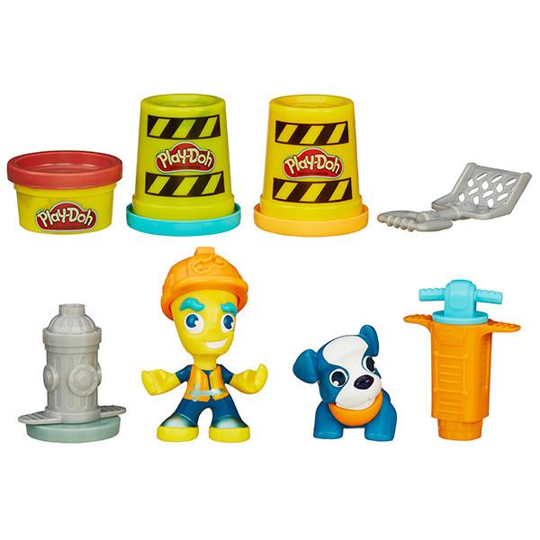 """Play-Doh Город Игровой набор """"Житель и питомец"""""""