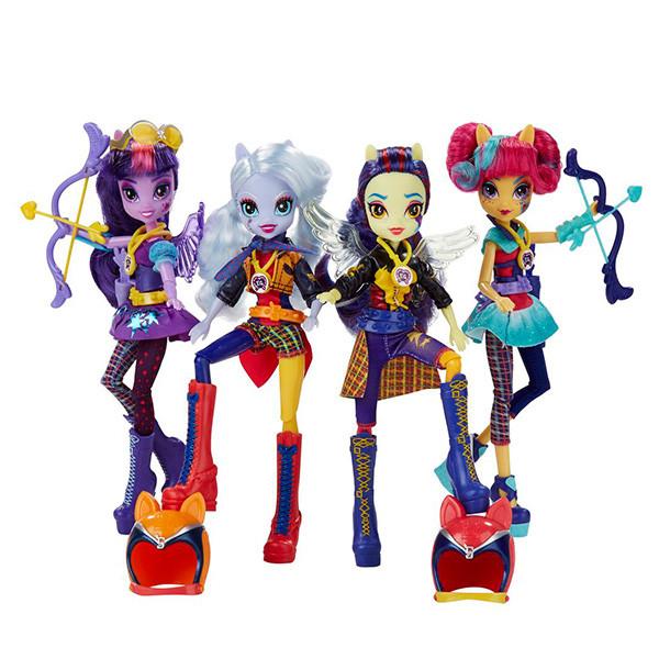 Equestria Girls Куклы делюкс темномолнии в ассортименте