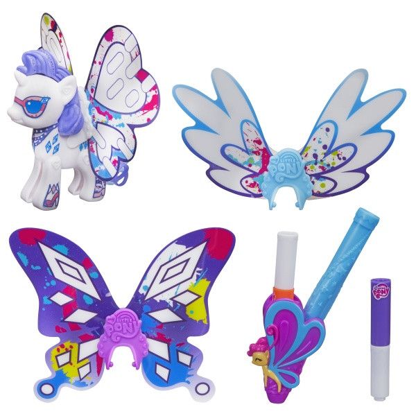 My little pony Пони с крыльями Создай свою пони