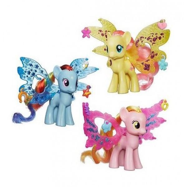 My little pony Пони Делюкс с волшебными крыльями