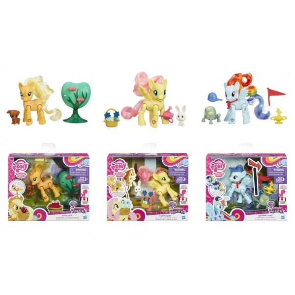 My little pony Мини-набор Пони с артикуляцией