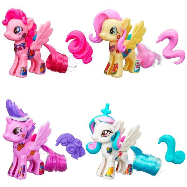 My little pony Стильные пони Создай свою пони