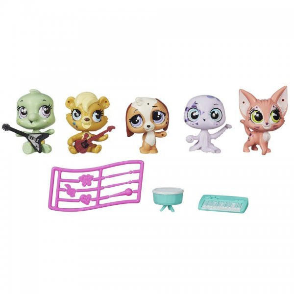 Littlest Pet Shop Мини-игровой набор в ассортименте