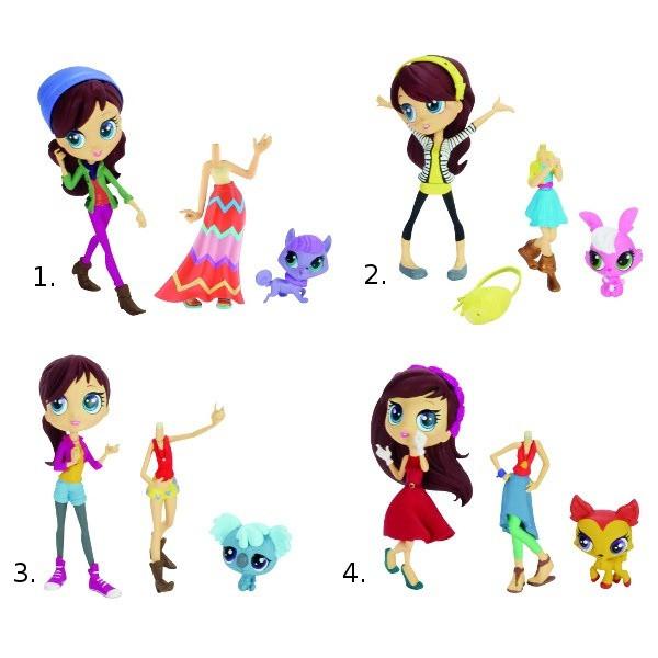 Littlest Pet Shop Кукла Модница Блайс и зверюшка (в ассорт.)