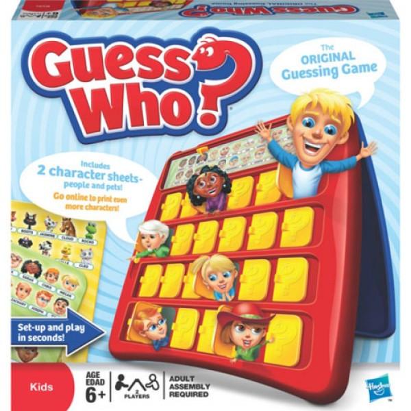 """Настольная игра Guess who? """"Угадай кто?"""""""