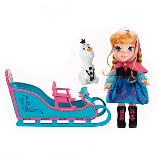 Игровой набор Принцессы Дисней Холодное Сердце Приключение Анны 50 см