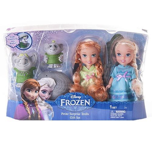 Набор кукол Принцессы Дисней Холодное Сердце и тролли