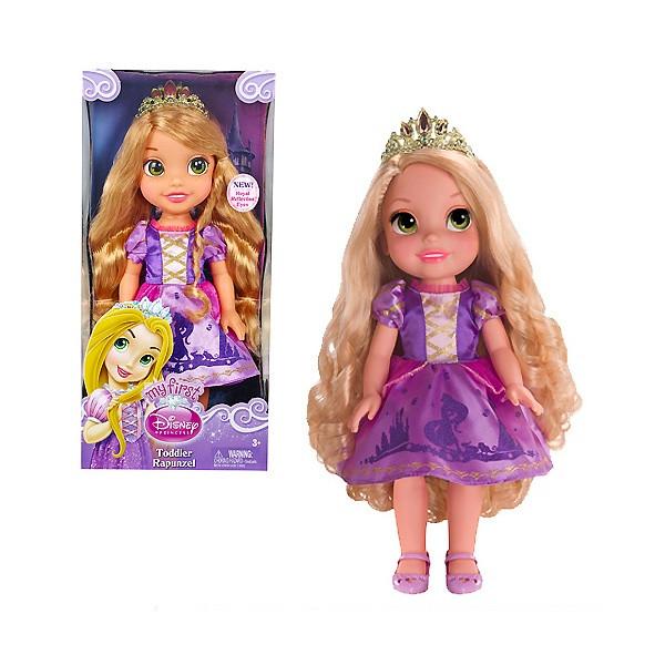 Disney Princess Принцессы Дисней Малышка 35 см. Рапунцель/Мерида,  в ассортименте