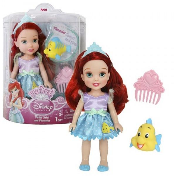 Игрушка Кукла Принцессы Дисней Малышка с питомцем в ассортименте - фото 1