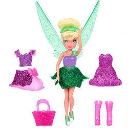 Игрушка Дисней Фея 11 см, кукла с волосами и дополнительным платьем