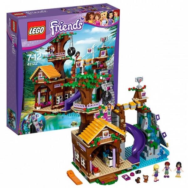 LEGO Подружки 41122 Спортивный лагерь: дом на дереве