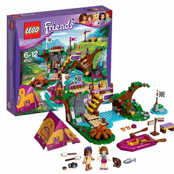 LEGO Подружки 41121  Спортивный лагерь: сплав по реке