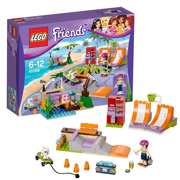 LEGO Подружки 41099 Скейт-парк Хартлейк сити