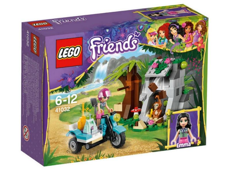 LEGO Лего Подружки Джунгли: Мотоцикл скорой помощи