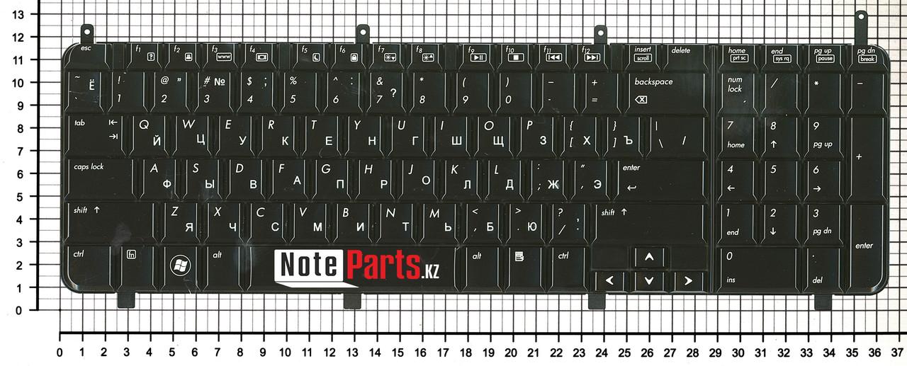 Клавиатура для ноутбука HP Pavilion dv8-1000 / dv8-1100 /  dv8-1200