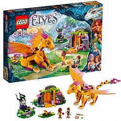 LEGO  Эльфы 41175 Лавовая пещера дракона огня