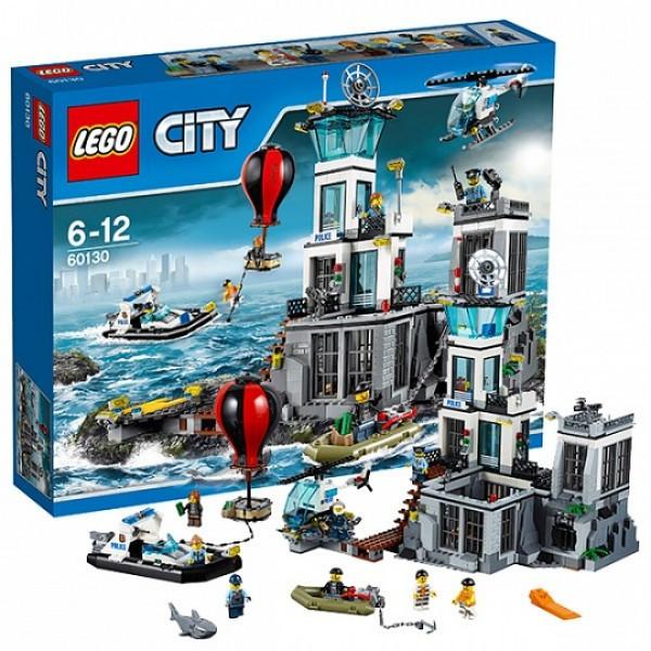 LEGO Город 60130 Остров-тюрьма