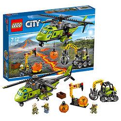 Lego Город 60123 Грузовой вертолёт исследователей вулканов