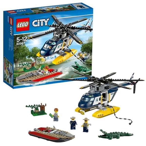 LEGO Город 60067 Погоня на полицейском вертолёте