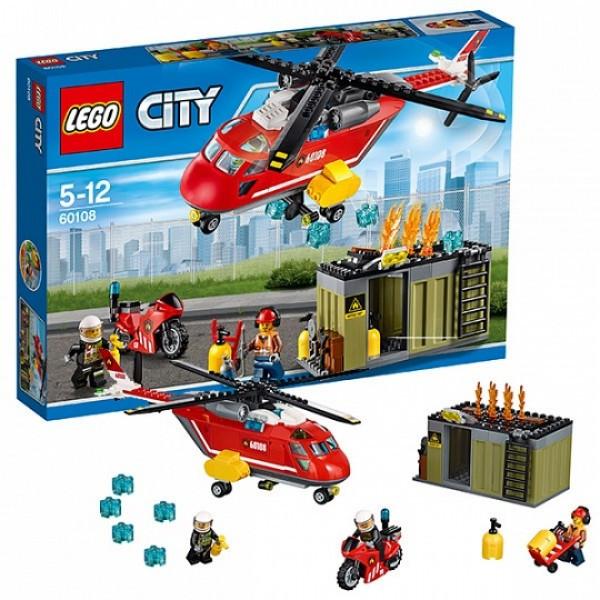 LEGO Город 60108 Пожарная команда быстрого реагирования
