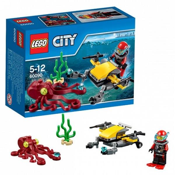 LEGO Город 60090 Глубоководный скутер
