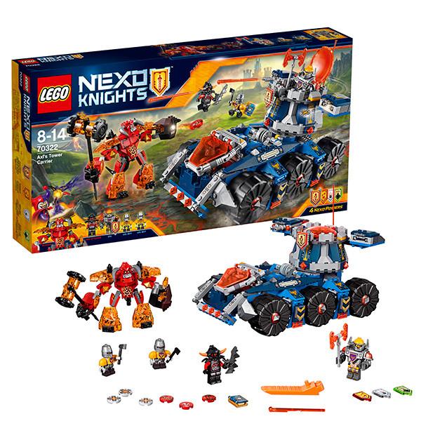 LEGO Нексо 70322 Башенный тягач Акселя