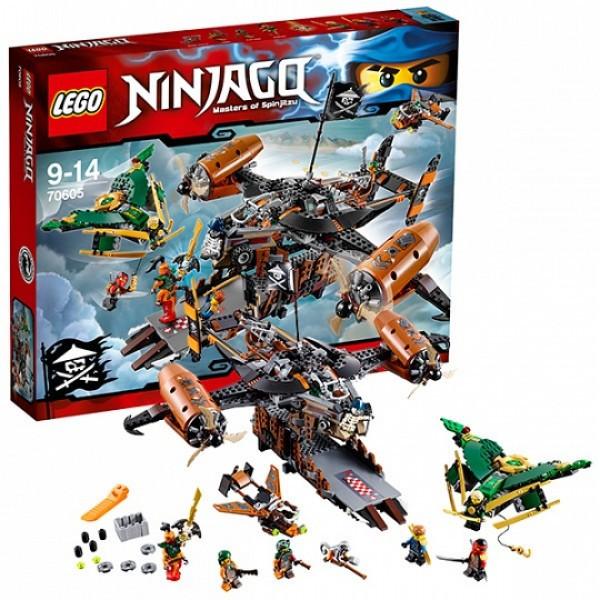 LEGO  Ниндзяго 70605 Цитадель несчастий