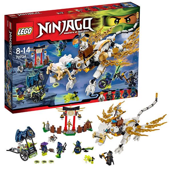 LEGO  Ниндзяго 70734  Дракон Сэнсэя Ву