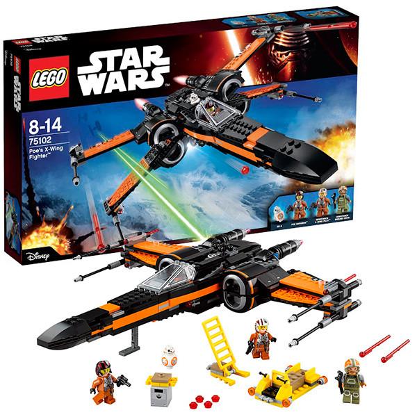 LEGO Звездные войны 75102 Истребитель По™