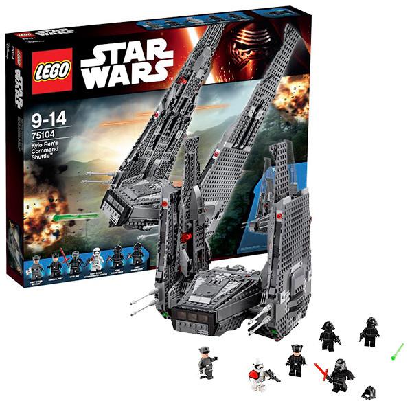 LEGO Звездные войны 75104 Командный шаттл Кайло Рена
