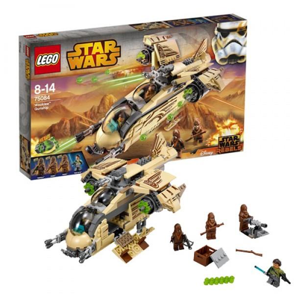 LEGO Звездные войны 75084 Боевой корабль Вуки