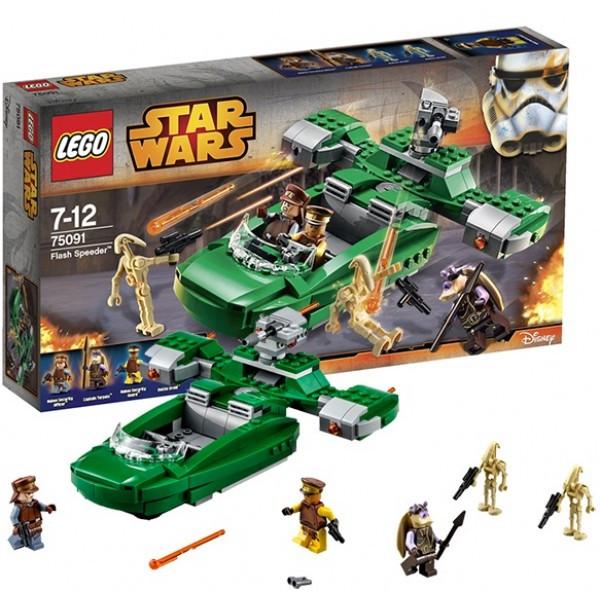 Конструктор LEGO Star Wars 75091 (ЛЕГО Звездные войны) Флэш-спидер
