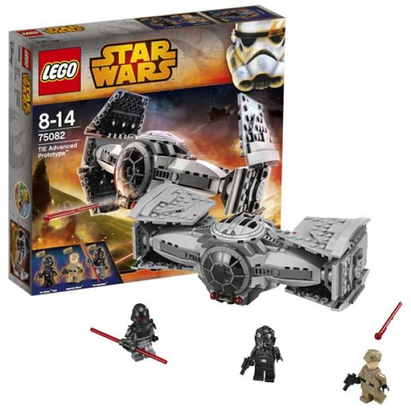 LEGO Звездные войны  75082 Улучшенный Прототип TIE Истребителя