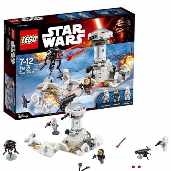 LEGO Звездные войны 75138 Нападение на Хот™