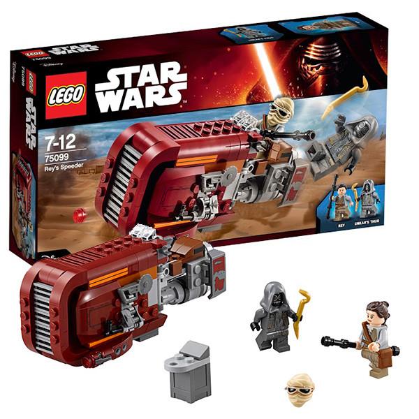 LEGO Звездные войны 75099 Спидер Рей™