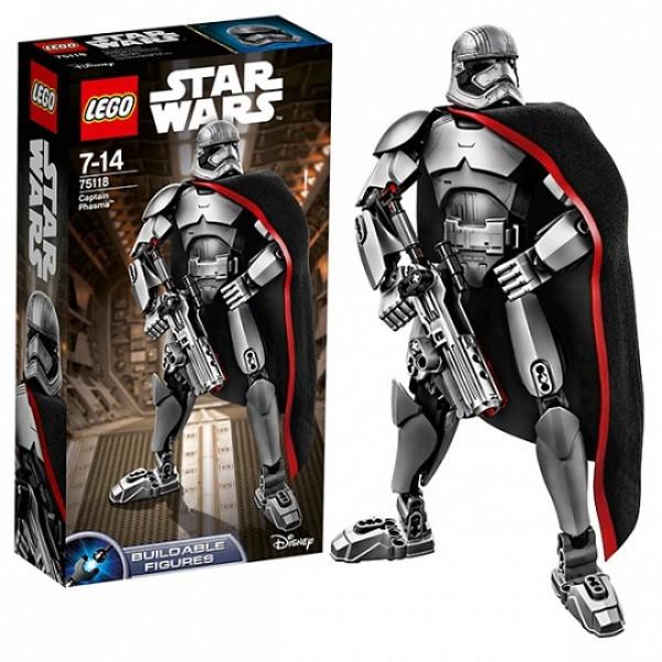 LEGO Звездные войны 75118 Капитан Фазма™