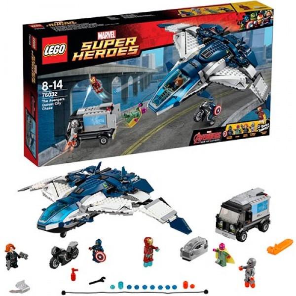 LEGO Супер Герои 76032 Погоня на Квинджете Мстителей™