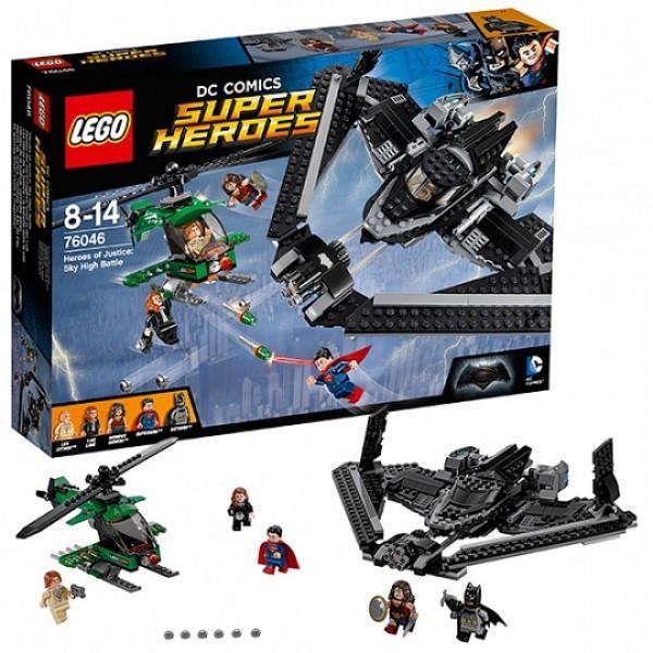 LEGO Супер Герои 76046 Поединок в небе