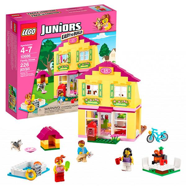LEGO Джуниорс 10686  Семейный домик