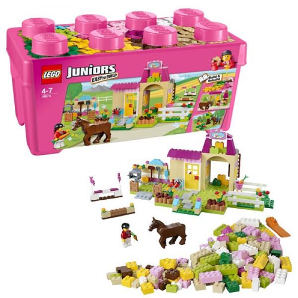 LEGO Джуниорс 10674 Пони на ферме