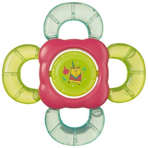 Прорезыватель-погремушка Happy Baby с водой TEETHER RATTLE