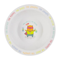 Тарелка Happy Baby глубокая Feebing bowl в ассортименте