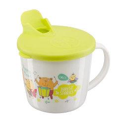 Тренировочная кружка Happy Baby Training cup с крышкой в ассортименте