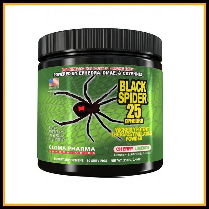 Предтрен Black Spider 30 порции