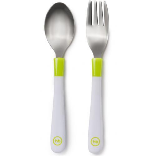 Набор столовых приборов Happy Baby Spoon and Fork Baby Cutlery Set в ассортименте