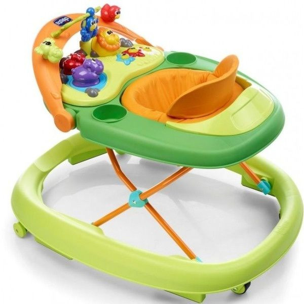 Chicco: Ходунки Walky Talky Baby Walker Green Wave
